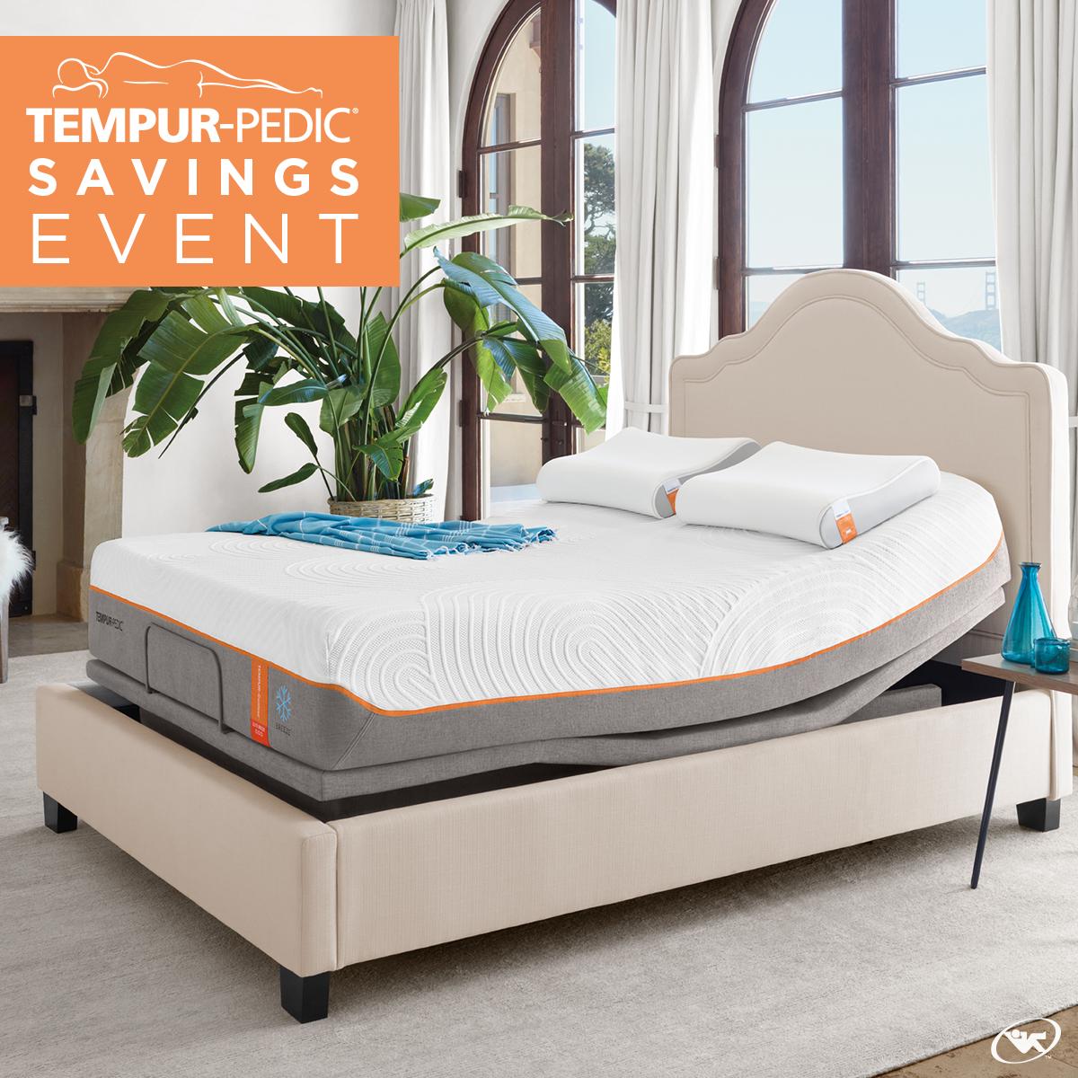 Save Big Sleep Easy Save Up To 500 On Select Tempur Pedic Adjustable Mattress Sets Ask Our Associates Ab Mattress Sets Tempurpedic Tempurpedic Mattress