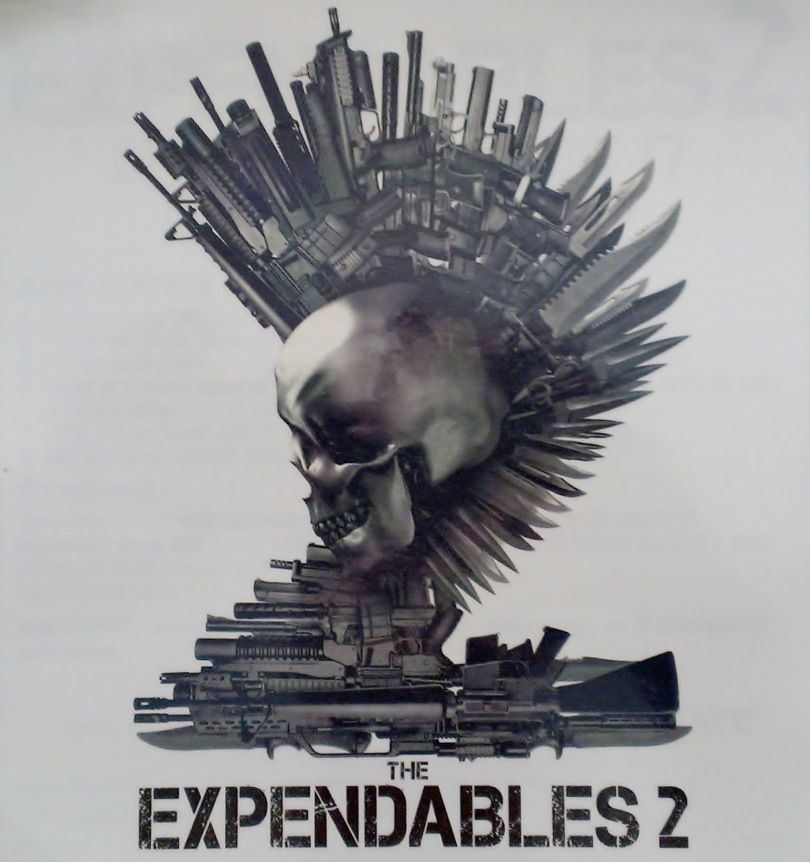 Expendables Tattoo Wallpaper Expendable Tattoo Drawing By: Expendables 2 Promo Tattoo From Comic-Con Lionsgate Booth
