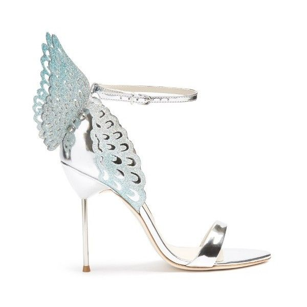 ☆SOPHIA WEBSTER Evangeline angel-wing leather sandals