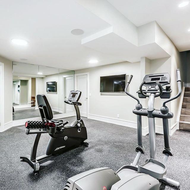 Home Gym Design Ideas Basement: Home Gym Design