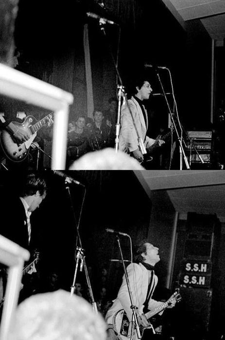 Johhny Thunders and the Heartbreakers, Anarchy Tour 1976.