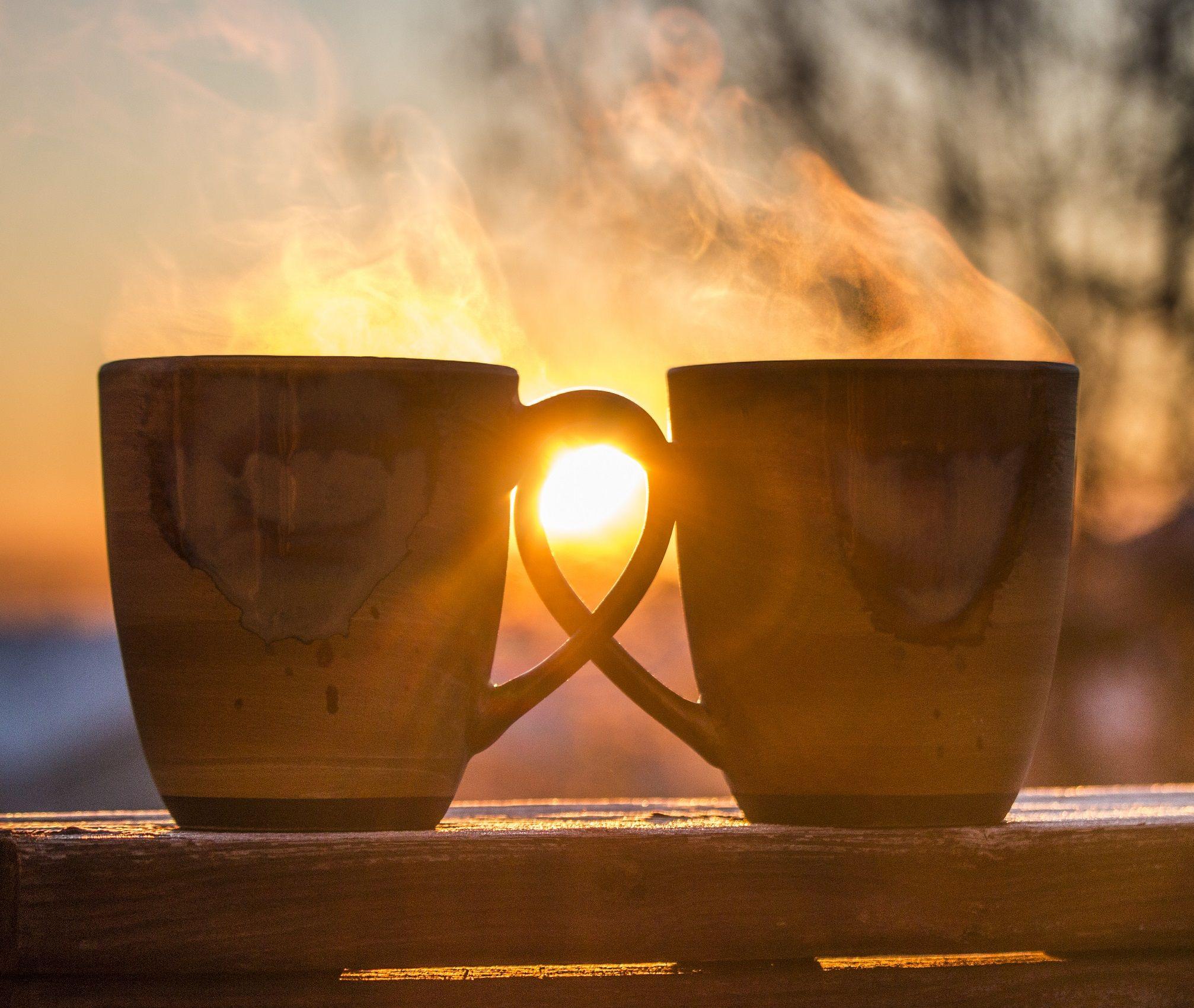 Картинки утренний чай на двоих