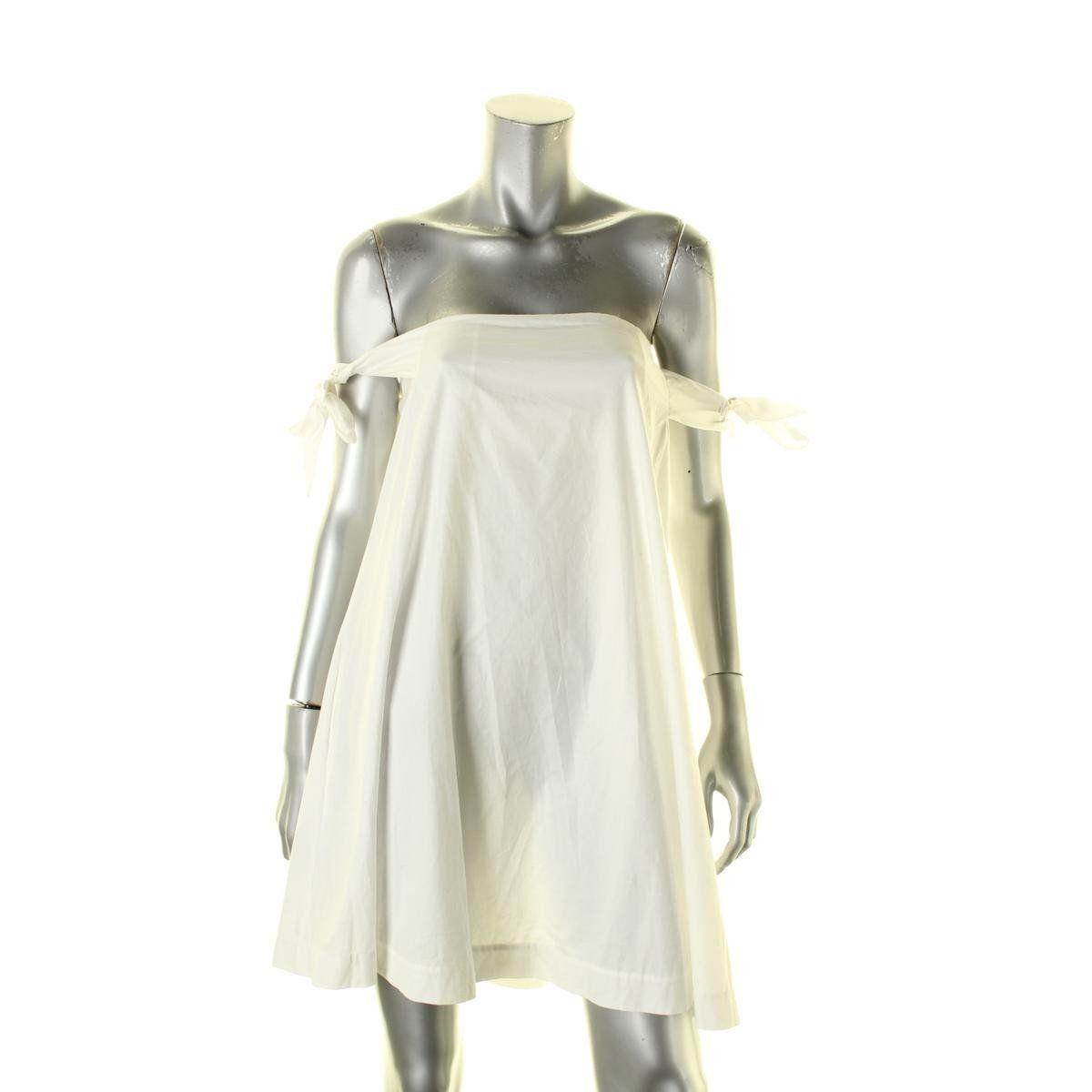 Rebecca minkoff womens mackenzie cotton stretch casual dress