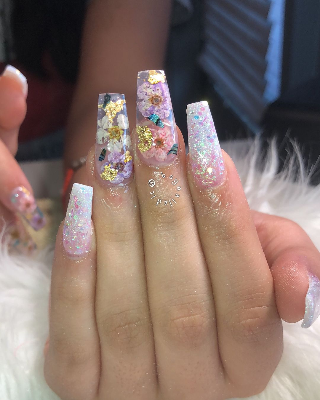 look at how BEAUTIFUL these are #nails #nailfie #dfwnails #nailtech #filipinanailtech #kaynailedit #nailstagram #thenaillife