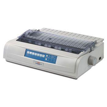 Microline 491n Network-Ready 24-Pin Dot Matrix Printer
