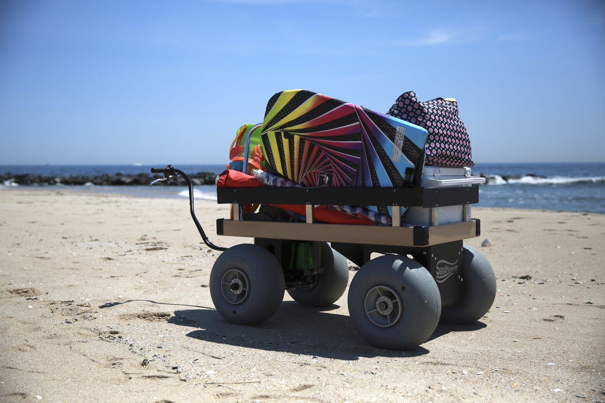 24 X 48 With Images Beach Cart Beach Wagon Electric Beach