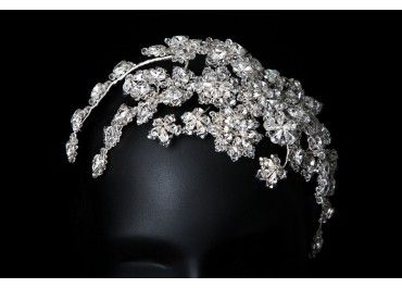 neroli bridal headpiece by polly edwards available to