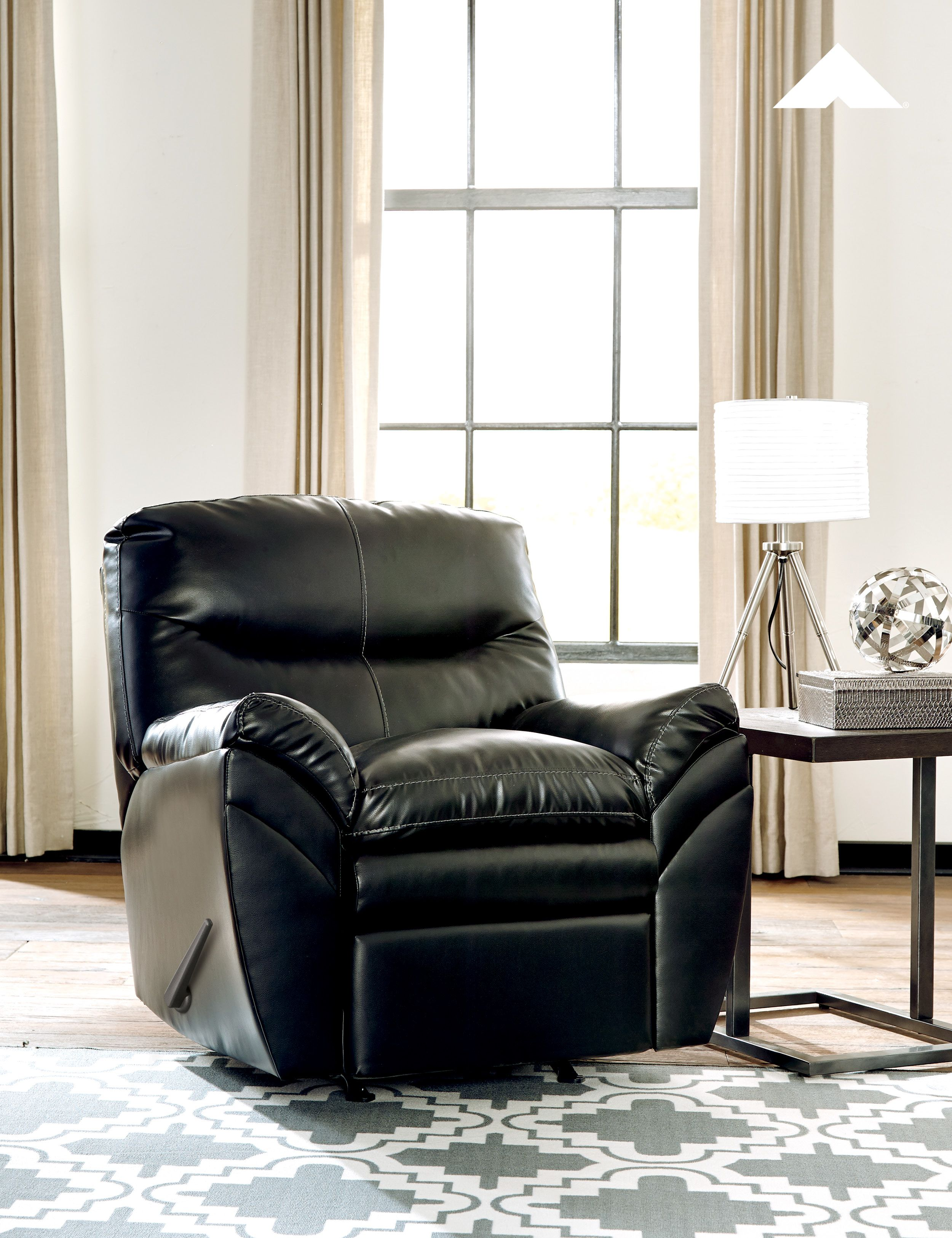 Tassler black rocker recliner by ashley furniture ashleyfurniture livingroom recliners relaxing falldecor