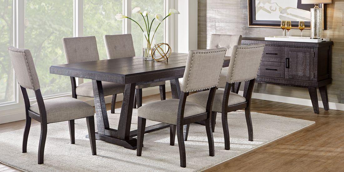 Hill Creek Black 5 Pc Rectangle Dining Room Rooms To Go In 2020 Dining Room Sets Black Dining Room Table Black Dining Room
