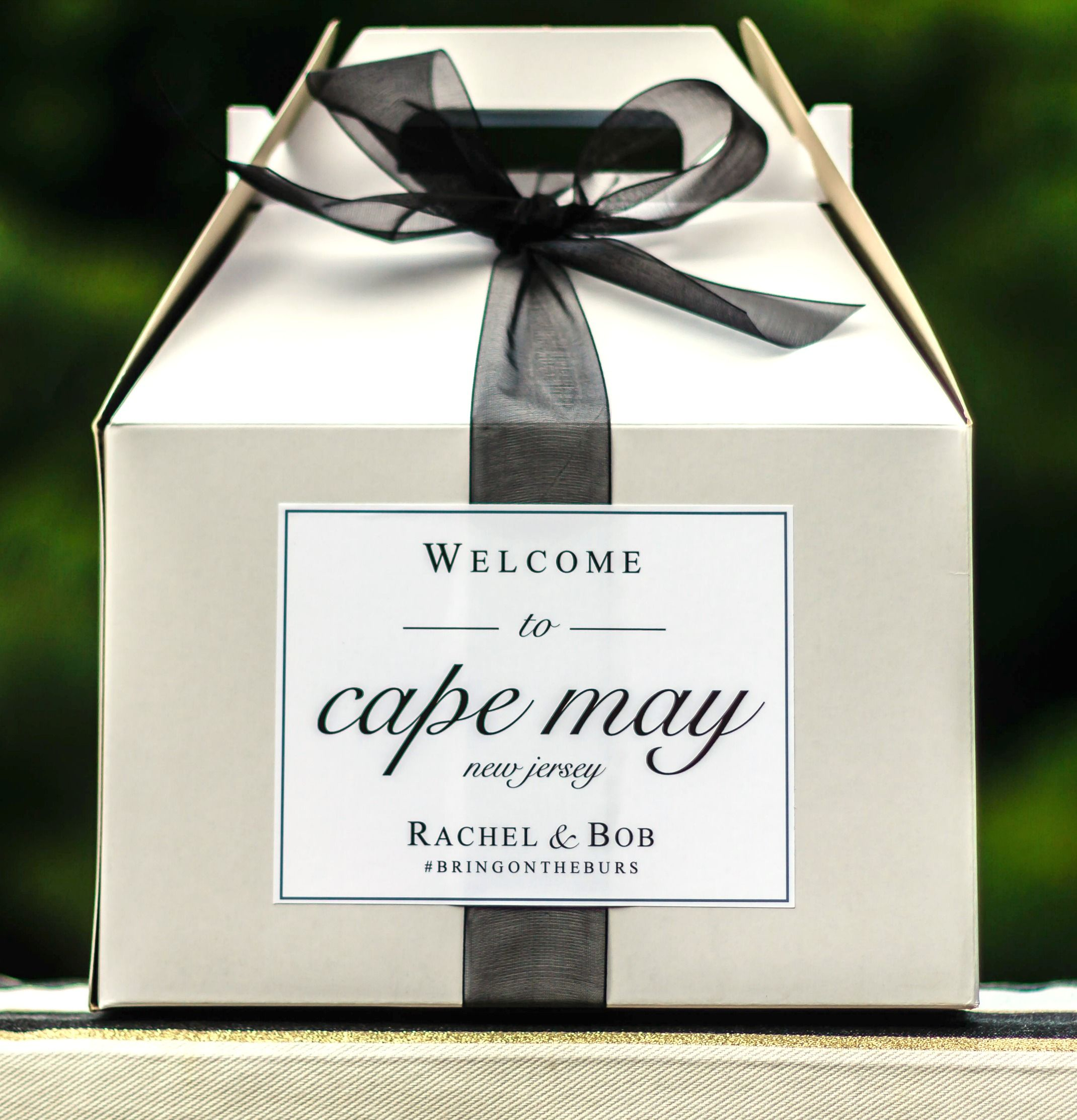 Wedding Welcome Bag Stickers - Wedding Welcome Bag Labels - Gable ...