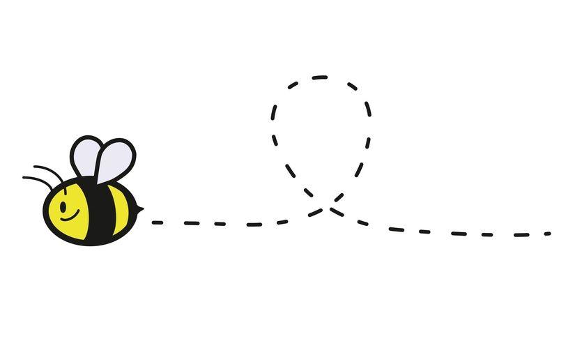 Cute Bee Template Its Honey Air Animal Bee Bumblebee