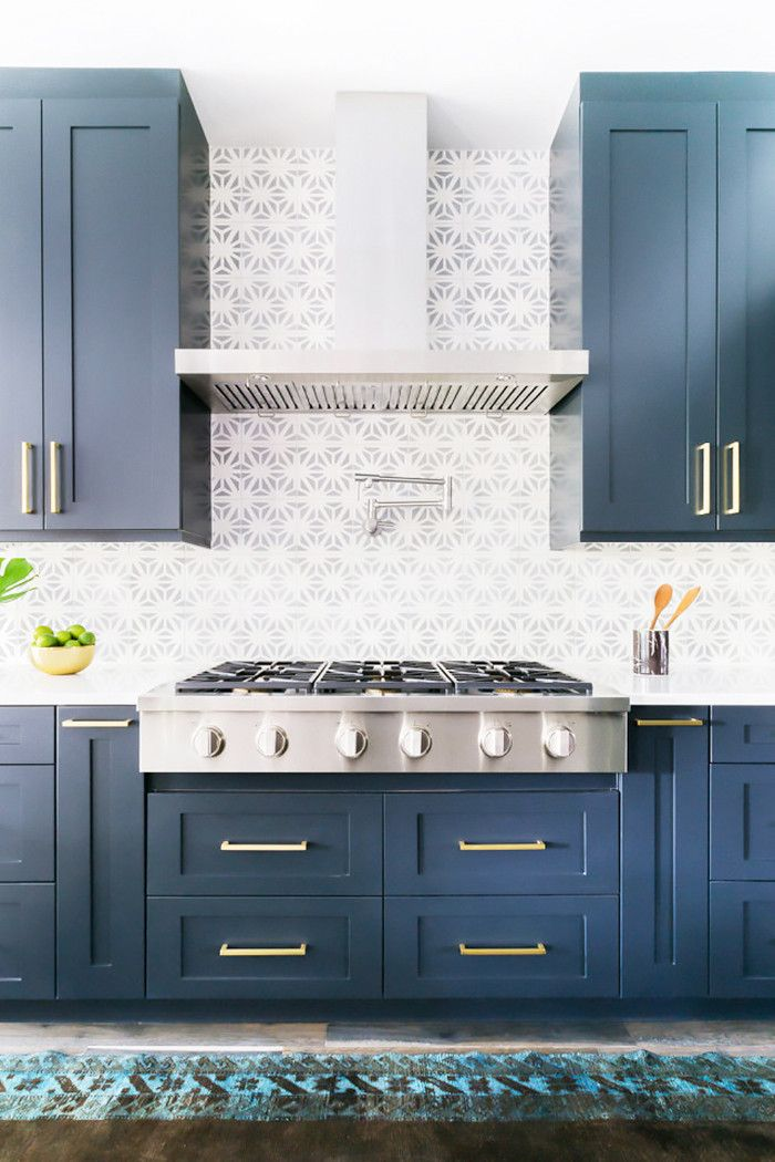 You Haven\u0027t Seen a Tiled Kitchen Backsplash Like This Before via