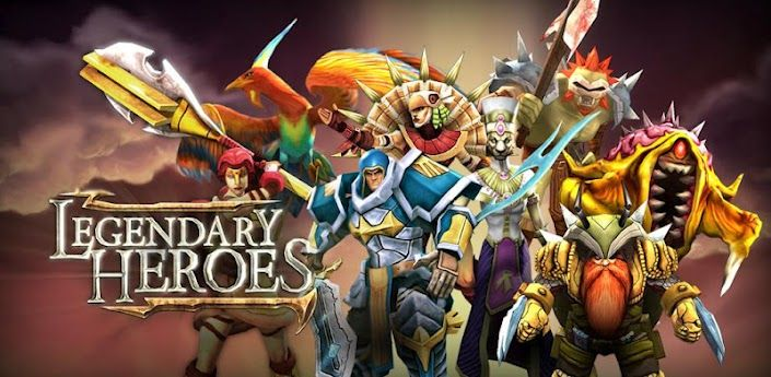 Legendary Heroes APK Mod v2 0 6 (Offline, Unlimited Crystals &Coins