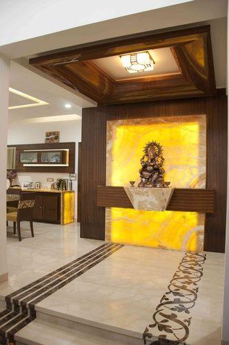 Pooja sthal | mandir | Pinterest | Puja room, Interiors ...