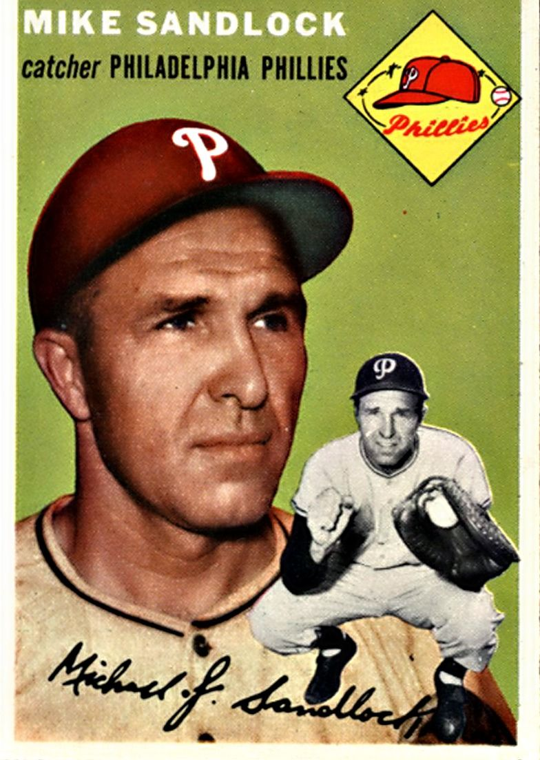 104 Mike Sandlock Philadelphia Phillies Philadelphia