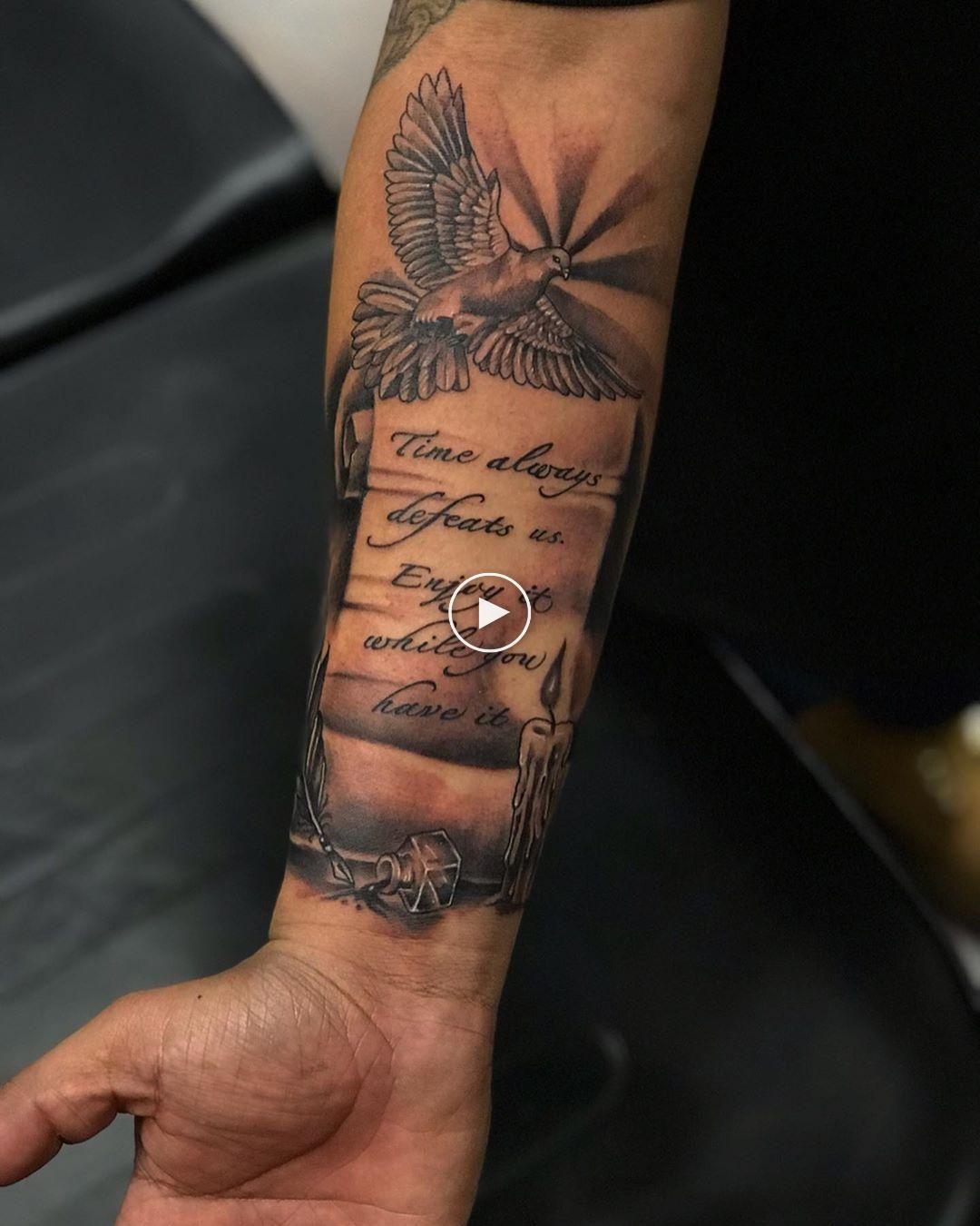 Motive unterarm tattoo männer 75 innere