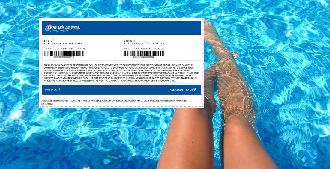 Leslies Pool Supplies 🆓 Coupons & Shopping Deals