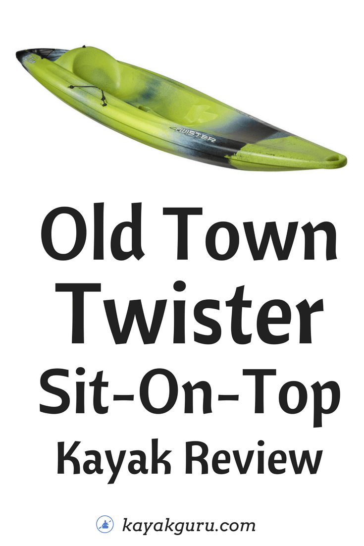 Old Town Twister Sit On Top Kayak Review Kayak Amp Canoe