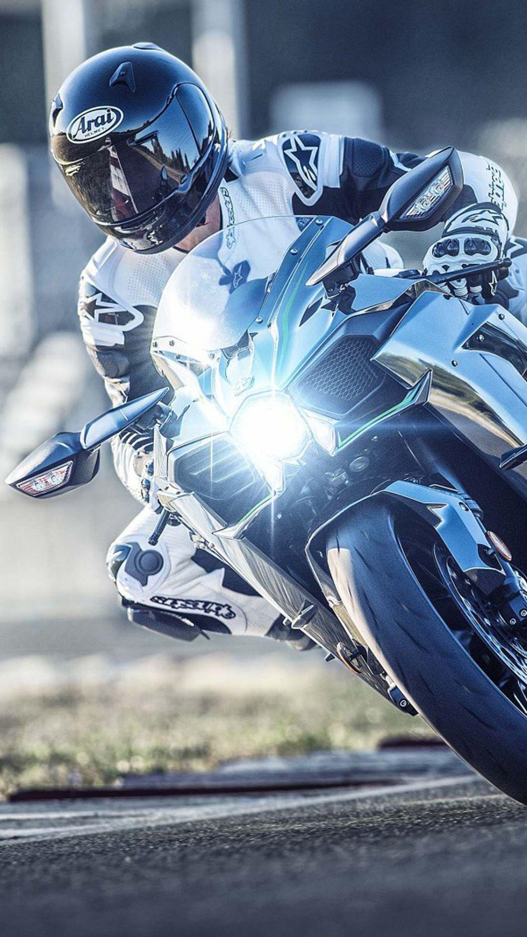 Kawasaki Ninja H2 4k Ultra Hd Mobile Wallpaper Kawasaki Ninja Kawasaki Bikes Sports Wallpapers