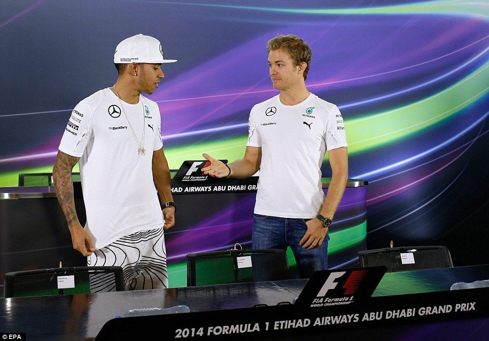 lewis hamilton and nico rosberg in pictures the awkward relationship between two stars