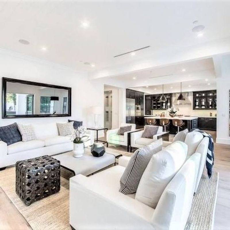 25 Modern Living Room Interior Design Ideas With Neutral Color Scheme Godiygo Com Neutral Living Room Living Room Decor Neutral Farmhouse Living Room Furniture
