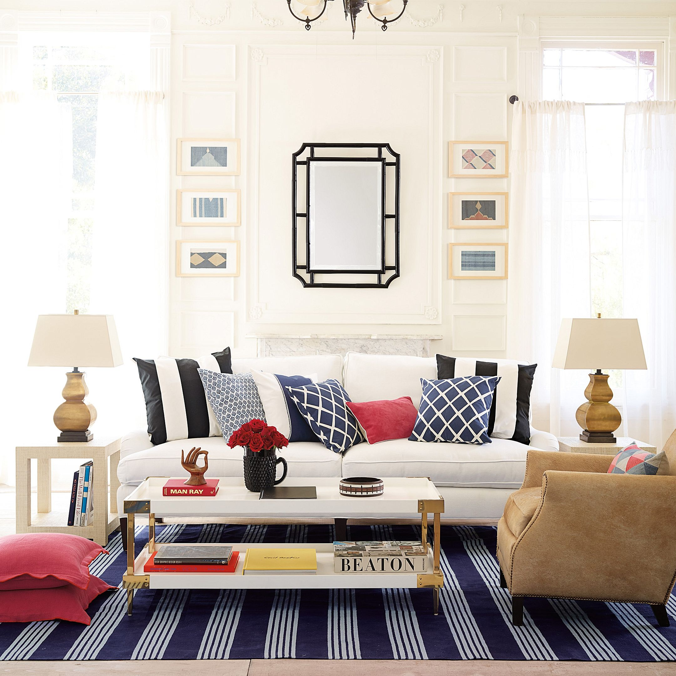 Lush. Layered. Lived In. The Hanover Sofa. #serenanadlily