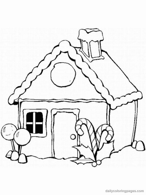 Christmas Coloring Pages Christmas Coloring Pages Gingerbread Houses 001 Free Christmas Coloring Pages Christmas Coloring Pages House Colouring Pages