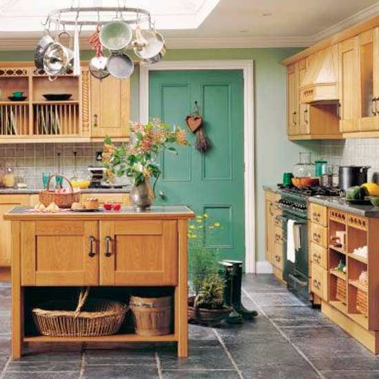 How to plan a country-style kitchen | Pinterest | Colore, Mobili e ...