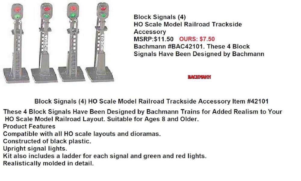 Bachmann Trains Block Signals