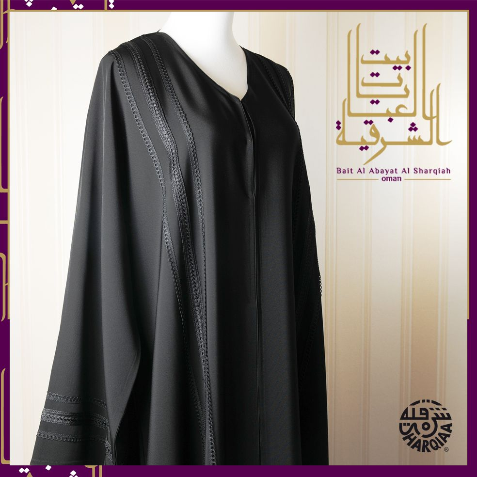 c42f31b65 Black Moroccan Style by