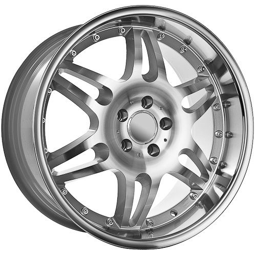 19 Inch Machine Faced/Deep Dish Mercedes Wheels Rims