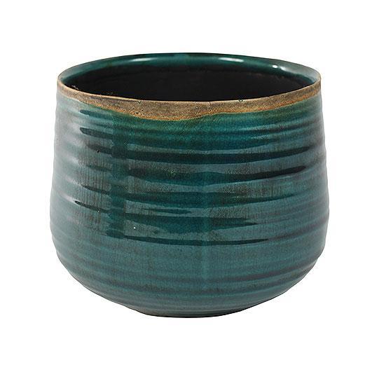 Iris Plant Pot Turquoise 18cm 21cm Indoor Plant Pots Ceramic Plant Pots Cactus Plant Pots
