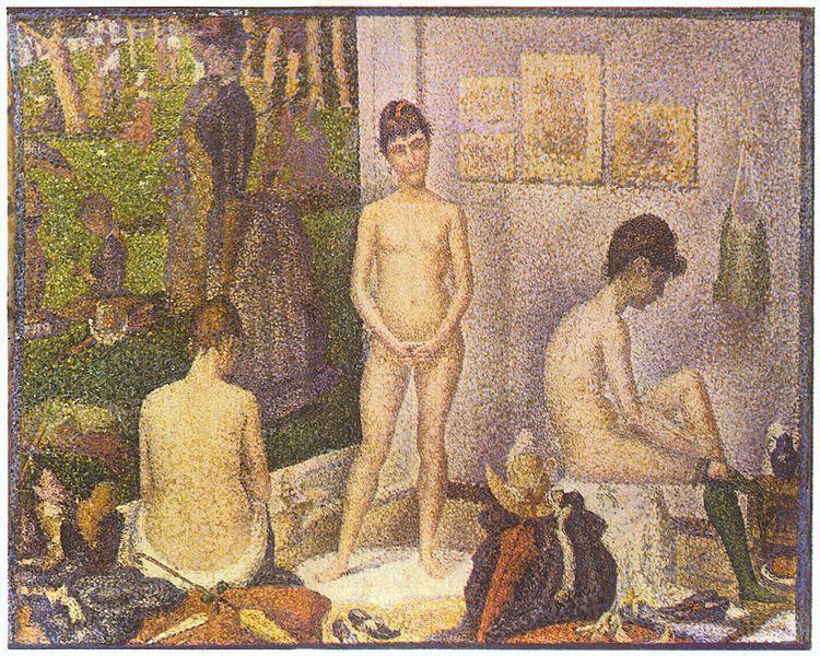 Seurat - Les poseuses 1888