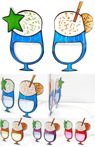 PINA COLADA PARTY GLASSES (Sold by the piece or dozen ) – Novelties Company