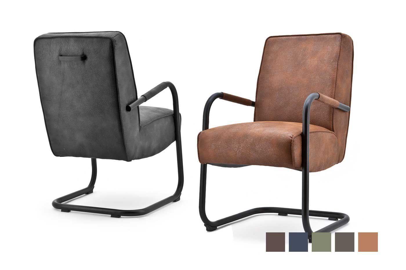 Faro Freischwinger Sessel Mit Armlehne Wohnsektion Sessel