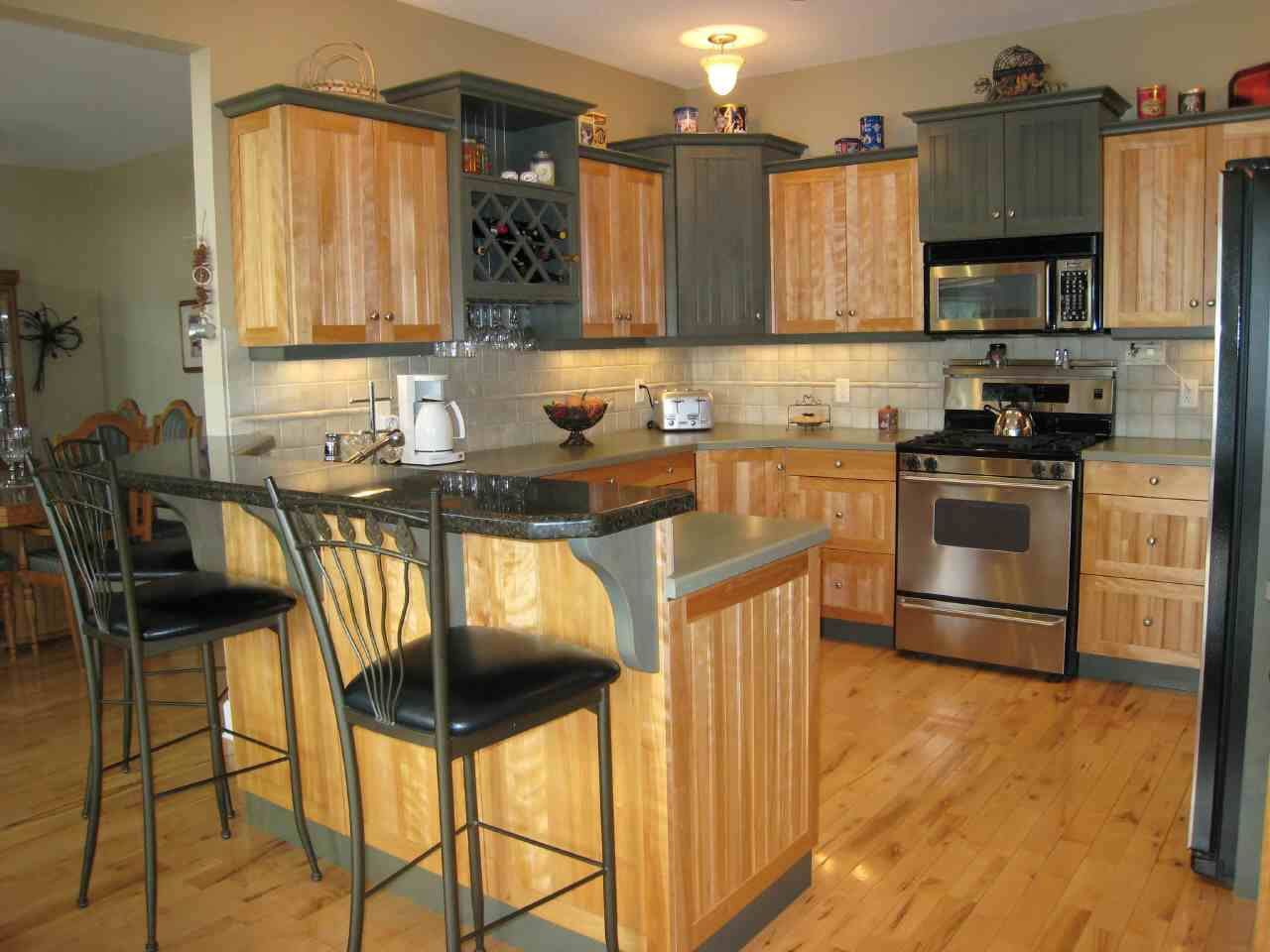Kitchen decor ideas kitchen decorating pictures photos open shelves