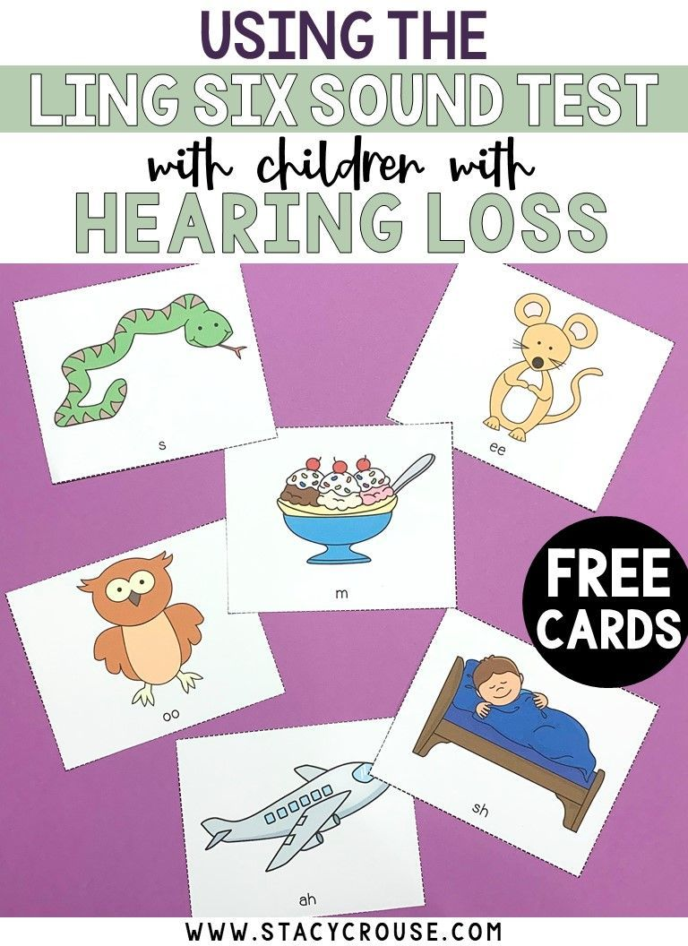 Using The Ling Six Sound Test With Children With Hearing