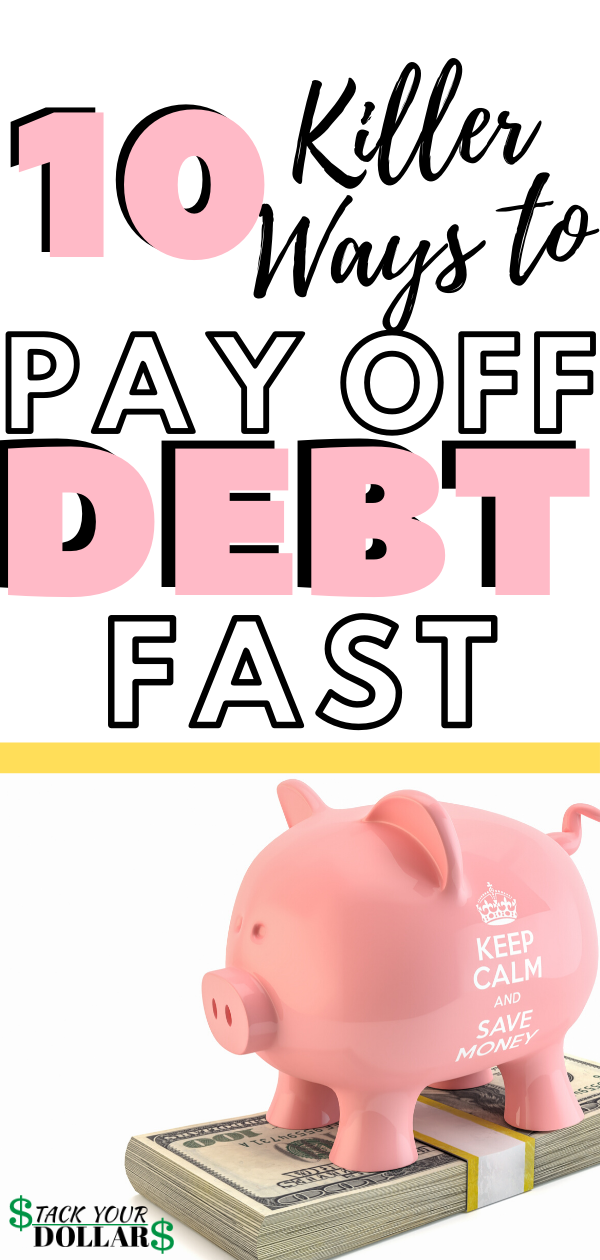 It's time to pay off debt quickly and achieve debt freedom. With a solid debt repayment plan, you can get out of debt fast! These debt repayment tips will help you pay down debt fast. Use these simple tips to pay off debt to crush debt and live a debt free life and even save on debt snowball interest by choosing the debt avalanche method! #eliminatedebt #payoffdebt #debtfree #stackyourdollars #debtrepayment #debtavalanche #debtsnowball #debt #debtpayoff #goodbyedebt #finances #financialfreedom