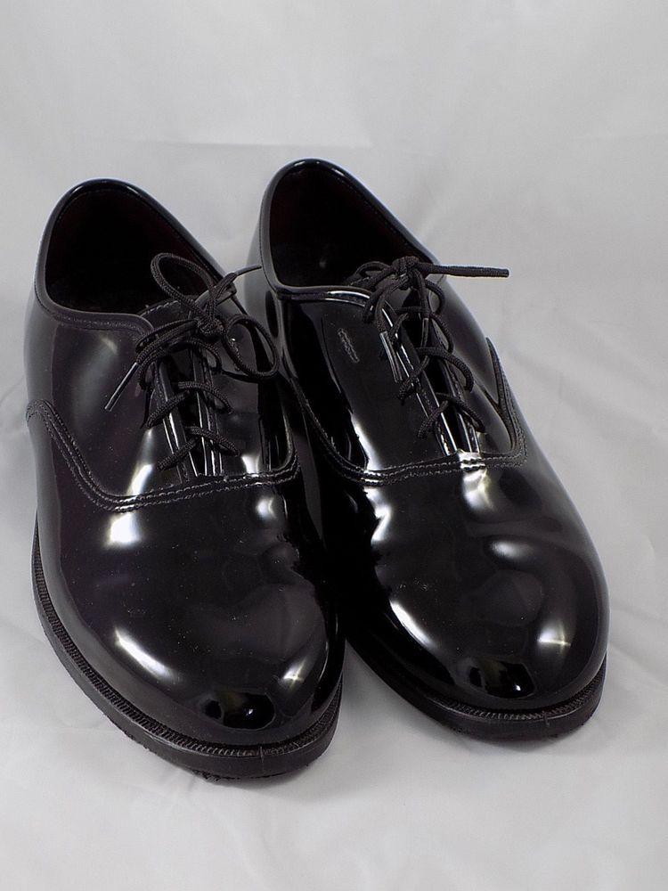 Gateway Formal Footwear Mens Black Patent Dress Formal / Tuxedo Shoes size 9.5