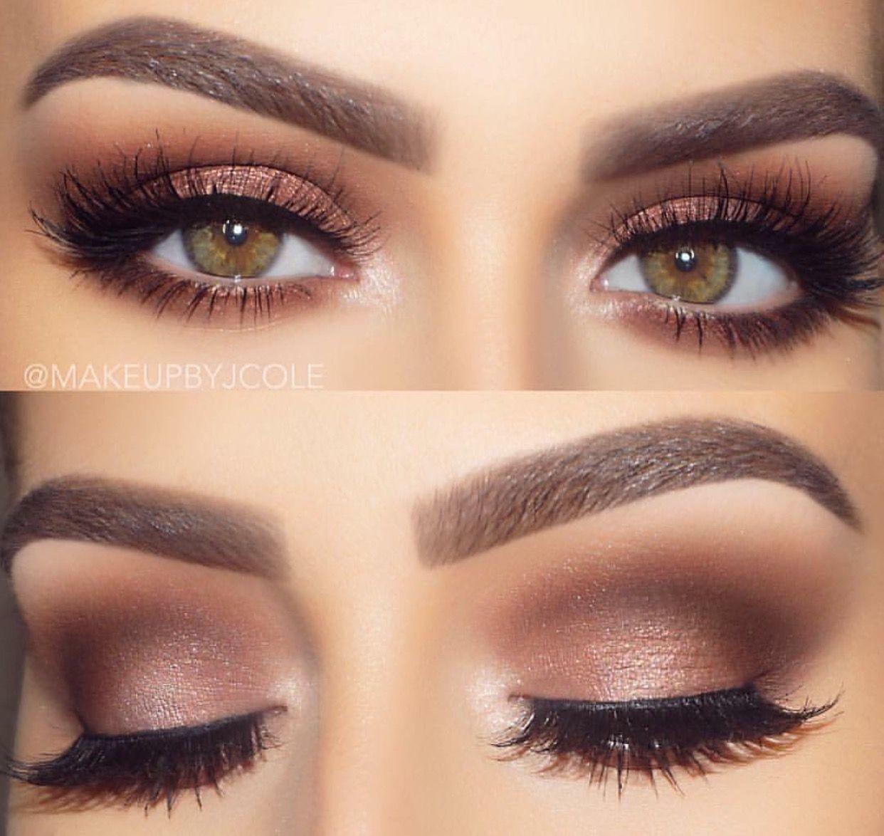 pinterest// @dariannskye | makeup for hazel eyes, no
