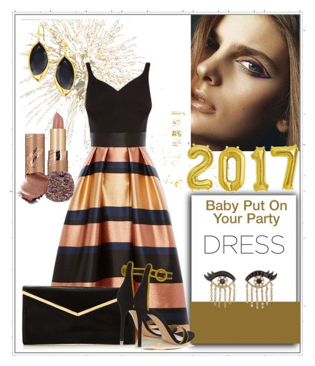 """""""New Years Eve Party 🎉"""" by klm62 ❤ liked on Polyvore featuring Coast, tarte, Lana, Sydney Evan, Gianvito Rossi and Illamasqua"""