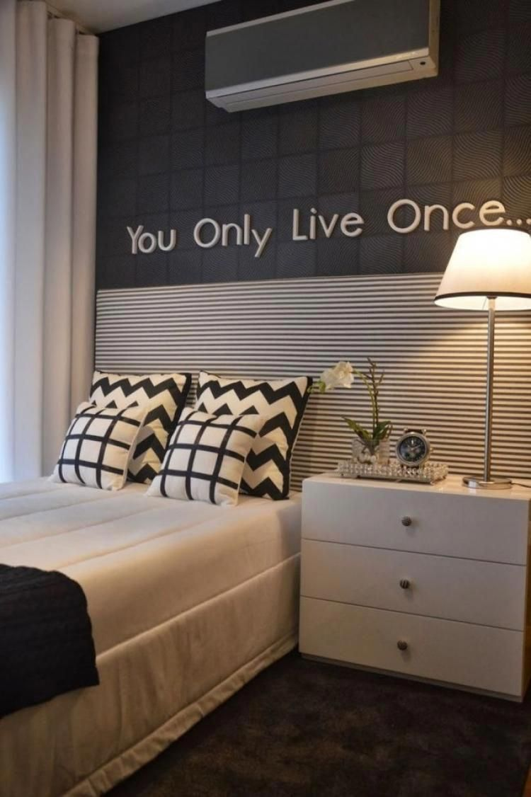 45 Awesome Apartment Decorating on a Budget - artmyideas. 40+ Best Small  Bedroom Ideas #smallbedroomdecor