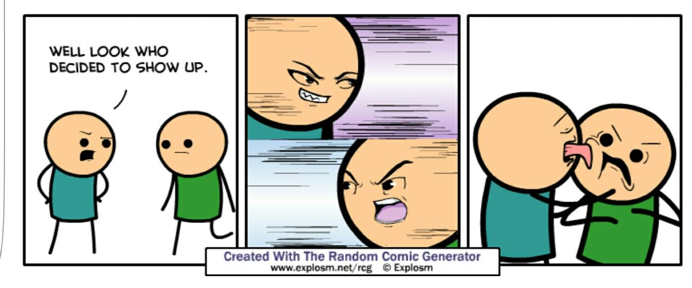 Idea by David Stein on Cyanide and Happiness Comic