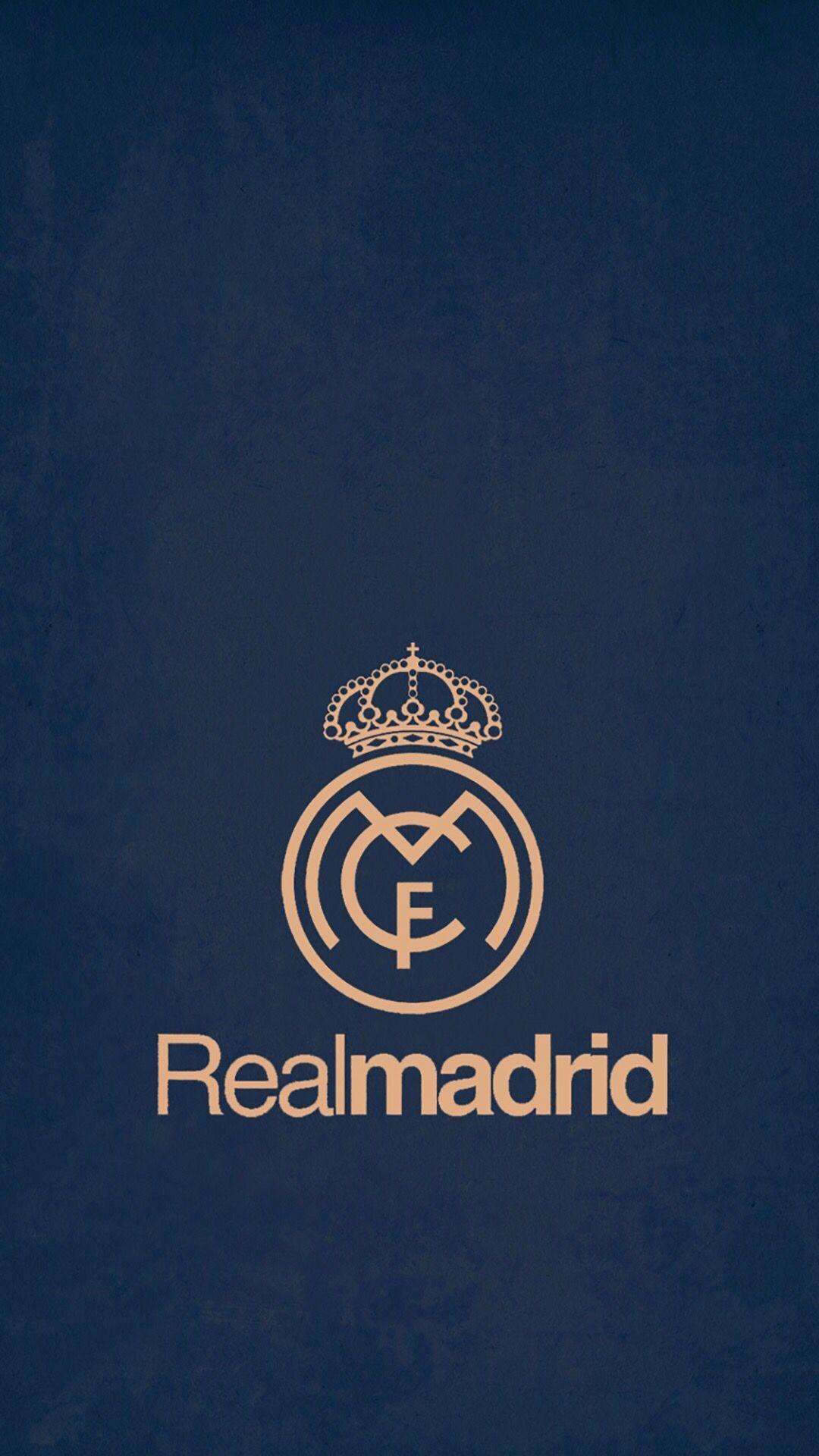 Fond d'écran Réal Madrid 2016 / 2017 Logo real madrid