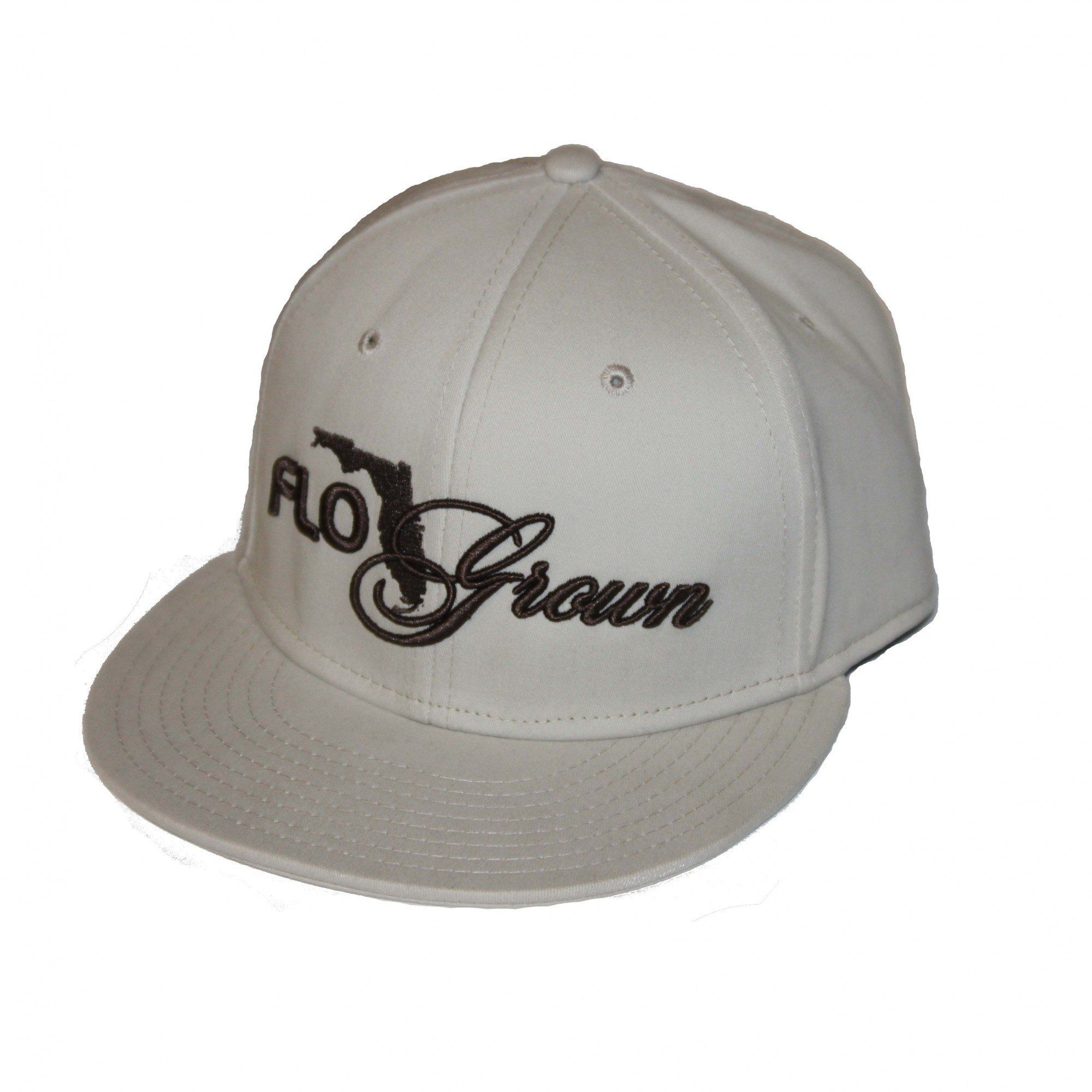 Flogrown Ivory Script Wide Bill Hat  FGH-20   1f85abc692b