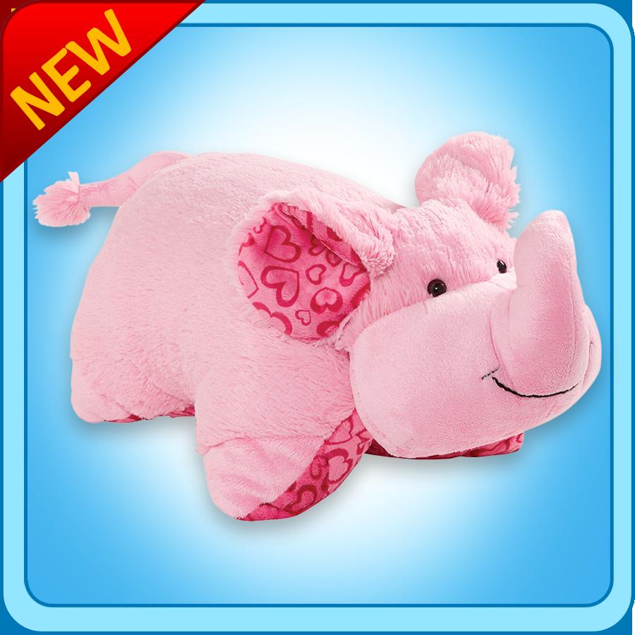 Xoxo Elephant Pillow Pet Elephant Pillow Pet Animal Pillows Elephant Plush Pillow
