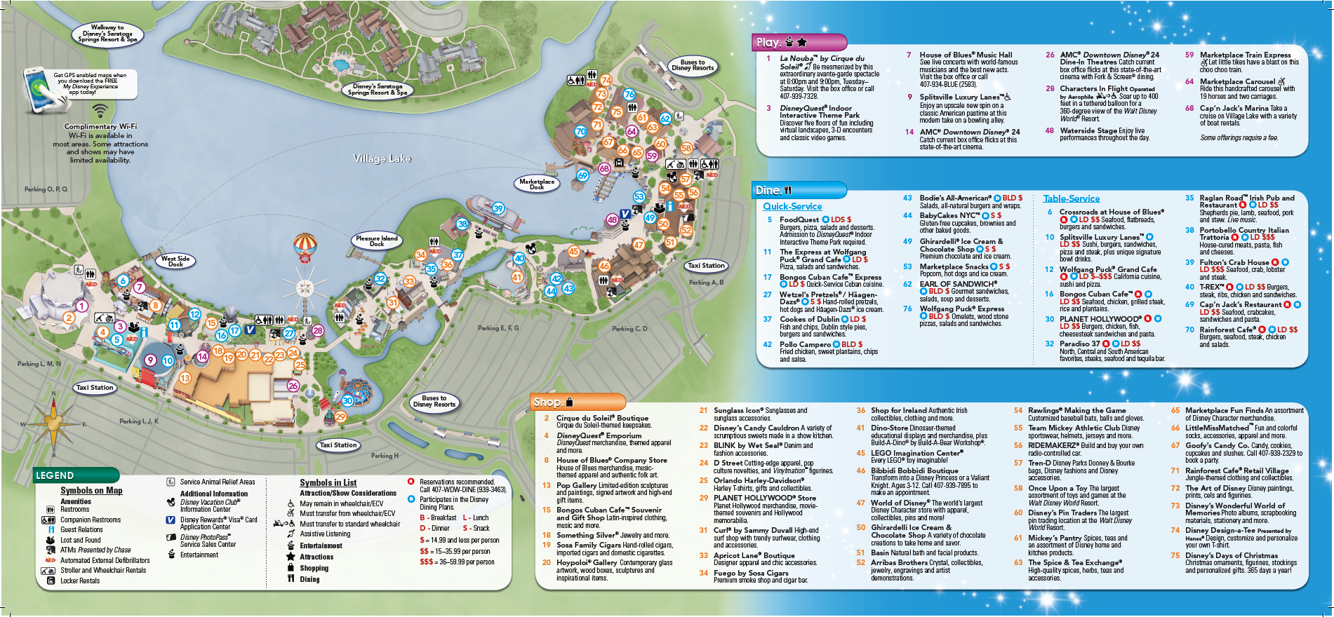 Backside of Downtown Disney brochure   Disney map, Disney ... on disney hotel orlando fl map, downtown orlando map, planet hollywood parking map, animal kingdom parking map, wet n wild parking map, 2014 disney world resort map, walt disney world map, downtown indianapolis parking map, busch gardens tampa parking map, disney boardwalk parking map, legoland florida parking map, disney hollywood studios parking map, daytona beach parking map, downtown louisville parking map, downtown phoenix parking map, disneyland parking map, disney world parking map, knott's berry farm parking map, los angeles parking map, new york city parking map,