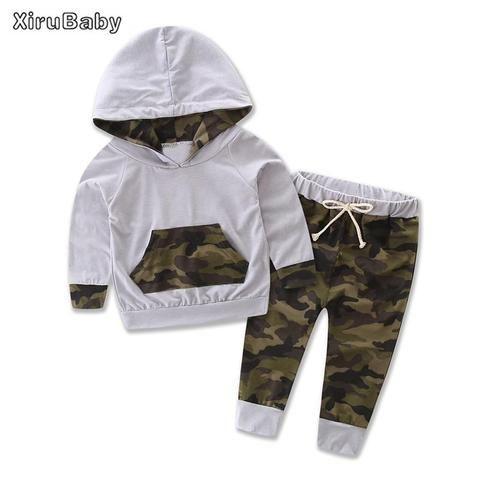 9efbb8dac15e2 Xirubaby Baby Clothing Sets Autumn Baby Boy Clothes 3PCS Outfits Set  Cottondresskily