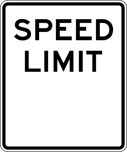 File:Speed Limit blank...L Sign In Yahoo