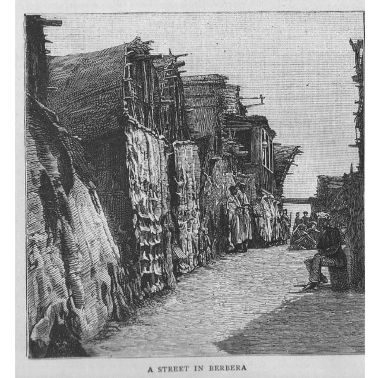 Berbera 1880 S Afrika Hargeisa